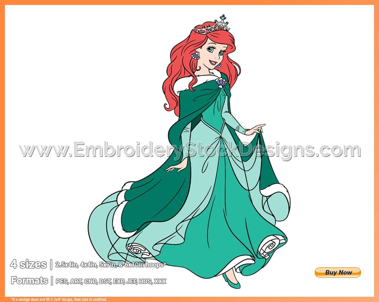 ariel 6 the little mermaid christmas holiday disney